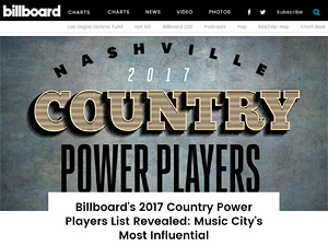 paula parisi contributes to billboard country power