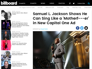 article about samuel jackson singing by paula parisi