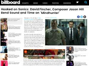 Billboard article on Mindhunter music by Paula Parisi
